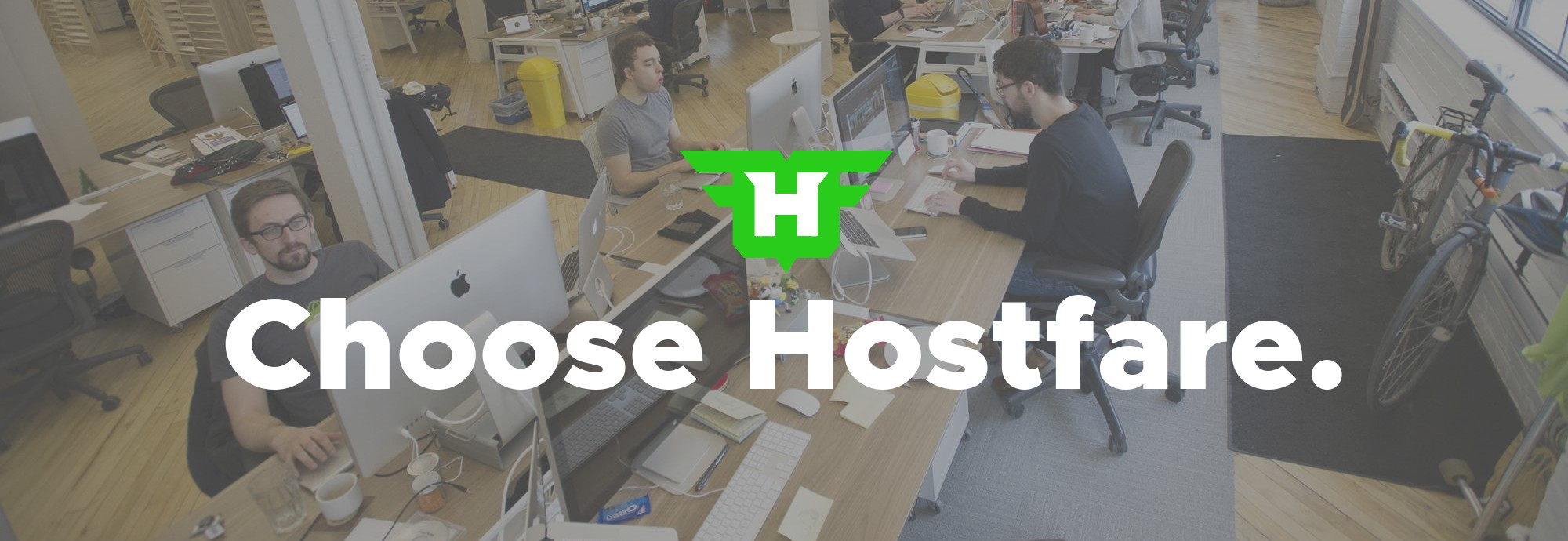 Choose Hostfare.